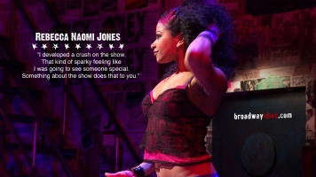 Rebecca Naomi Jones is one of the most versatile and talented young actresses on Broadway. She is particularly drawn to working on new musicals, like American Idiot or Passing Strange.