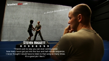 Steven Hoggett, an Olivier Award winner from England, has an inventive approach to choreography that is more modern dance than traditional Broadway. He draws on the actors actions to create movement that looks both incredibly natural as well as emotionally provocative.